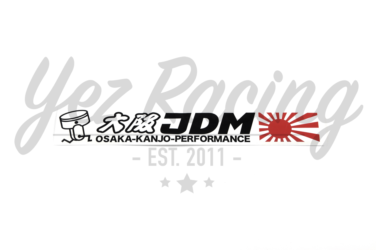 osaka jdm sticker  long   u2013 yez racing